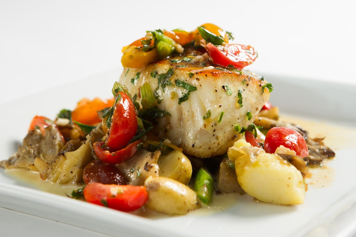 sauteed-halibut-lemon-sauce-oyster-mushrooms-asparagus-fingerling-potatoes-tomato-confit_8577312847_o.jpg